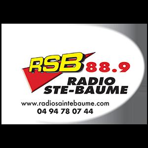 logo radio sainte baume partenaire marathon var provence verte 2020